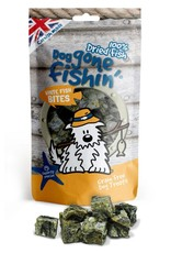 Dog gone fishin' 100% Dried Fish White Fish Bites Dog Treats 75g