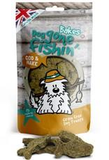 Dog gone fishin' Bakes Cod & Hake Dog Treats 75g