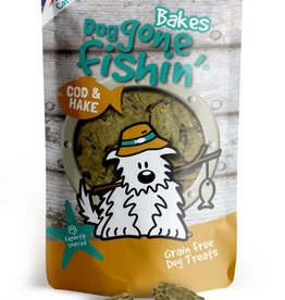 Dog gone fishin' Bakes Cod & Hake Dog Treats 75g