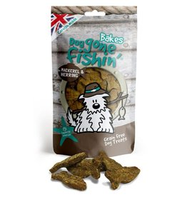Dog gone fishin' Bakes Mackerel & Herring Dog Treats 75g