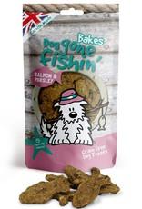 Dog gone fishin' Bakes Salmon & Parsley Dog Treats 75g