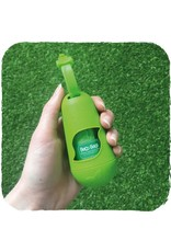 Beco Eco-Friendly Bamboo Pod Poop Bag Dispenser, Green