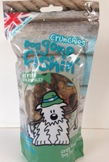 Dog gone fishin' Crunchies Red Fish with Parsley Dog Treats 75g