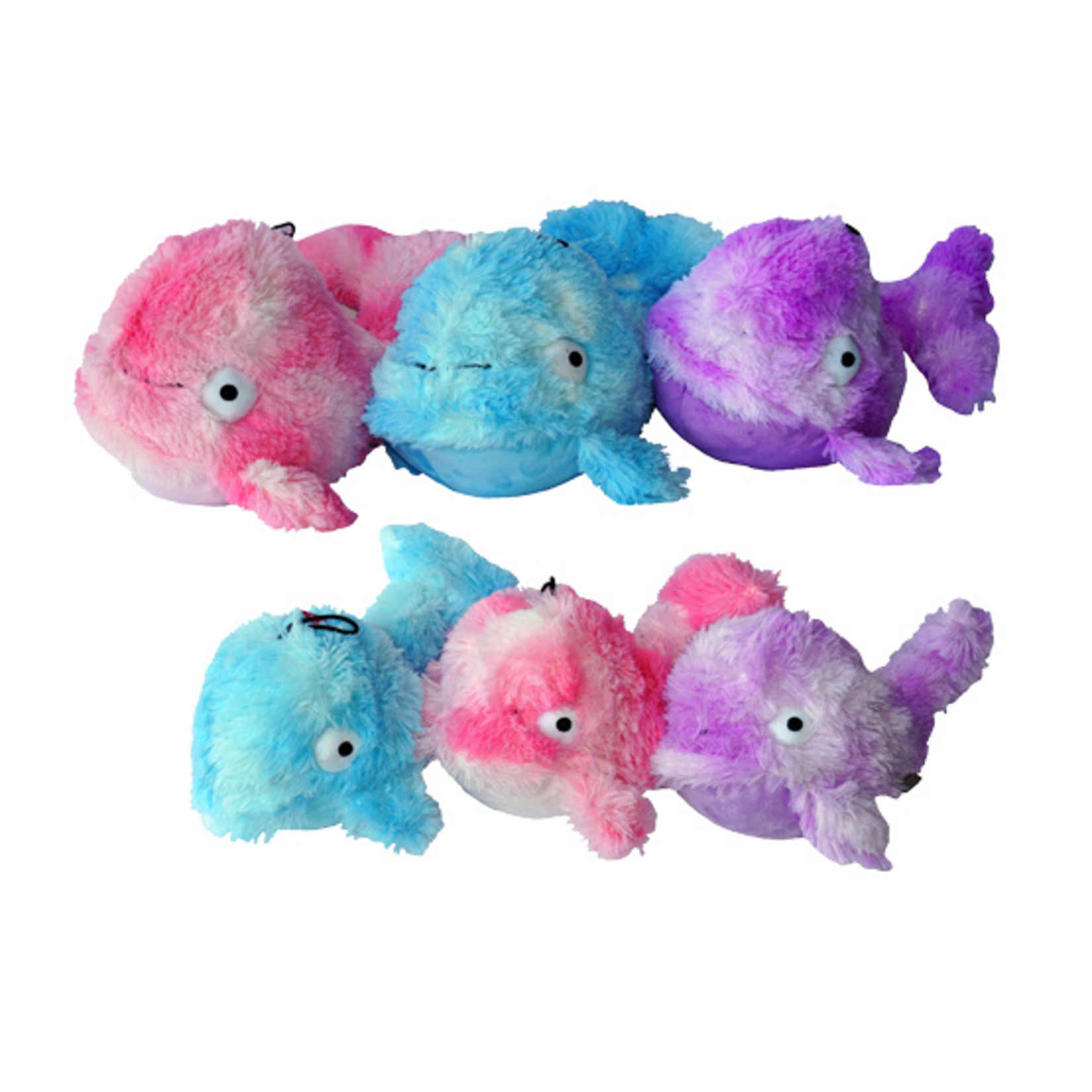 Gor Pets Cuddle Soft Mommy Whale Dog Toy