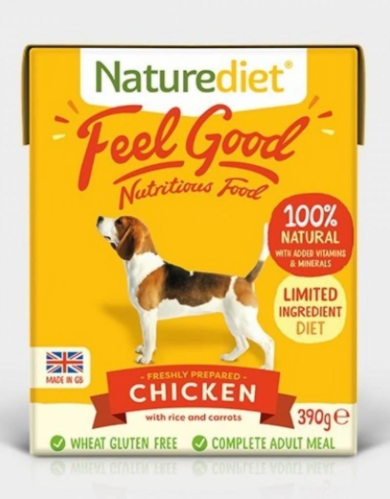 Naturediet Feel Good Wet Dog Food, Chicken 390g
