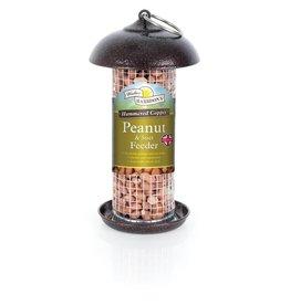 Harrisons Mini Peanut/Suet Feeder Copper Hammertone 20cm
