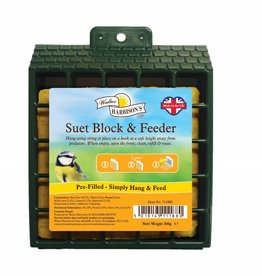 Harrisons Suet Block Feeder with Suet included 300g
