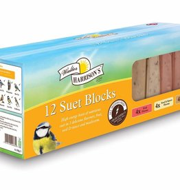 Harrisons Suet Blocks for Wild Birds, Variety Box