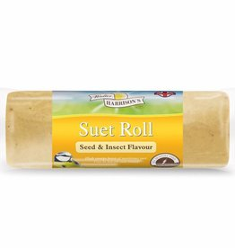 Harrisons Suet Roll Seed and Insects for Wild Birds, 500g