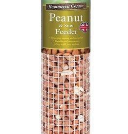Harrisons Peanut/Suet Feeder Copper Hammertone 30cm