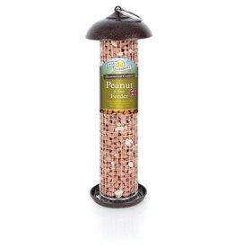 Harrisons Hammered Copper Peanut & Suet Bird Feeder, 30cm
