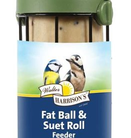 Harrisons Flip Top Fat  Ball and Suet Roll Feeder