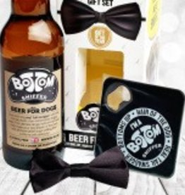 Woof&Brew Bottom Sniffer Doggy Beer & Bow Tie Gift Pack