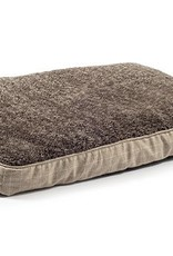 Ancol Joint Ease Memory Crumb Dog Bed 100 x 70cm, Cream