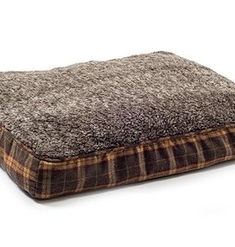 Ancol Joint Ease Memory Crumb Dog Bed 75 x 60cm, Brown