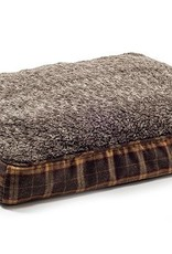 Ancol Joint Ease Memory Crumb Dog Bed 100 x 70cm, Brown