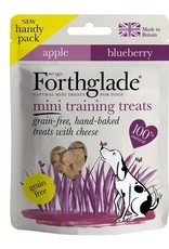 Forthglade Mini Training Treats Apple & Blueberry with Cheese 50g