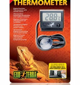 Exo Terra Digital Precision Thermometer with Remote Sensor