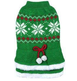Animate Green Tutu Snowflake Christmas Jumper