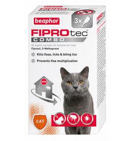 Beaphar FIPROtec Combo Flea & Tick Spot On for Cats