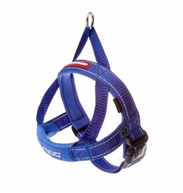 EzyDog Quick Fit Dog Harness, Blue