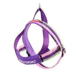 EzyDog Quick Fit Harness, Bubble Gum Pink