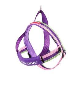 EzyDog Quick Fit Dog Harness, Bubble Gum Pink