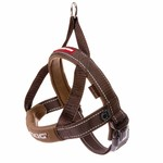 EzyDog Quick Fit Dog Harness, Chocolate