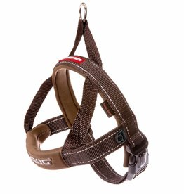 EzyDog Quick Fit Harness, Chocolate