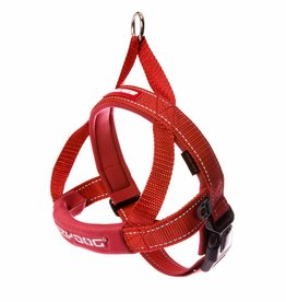EzyDog Quick Fit Harness, Red
