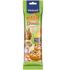 Vitakraft Donuts with Carrot for Small Animals