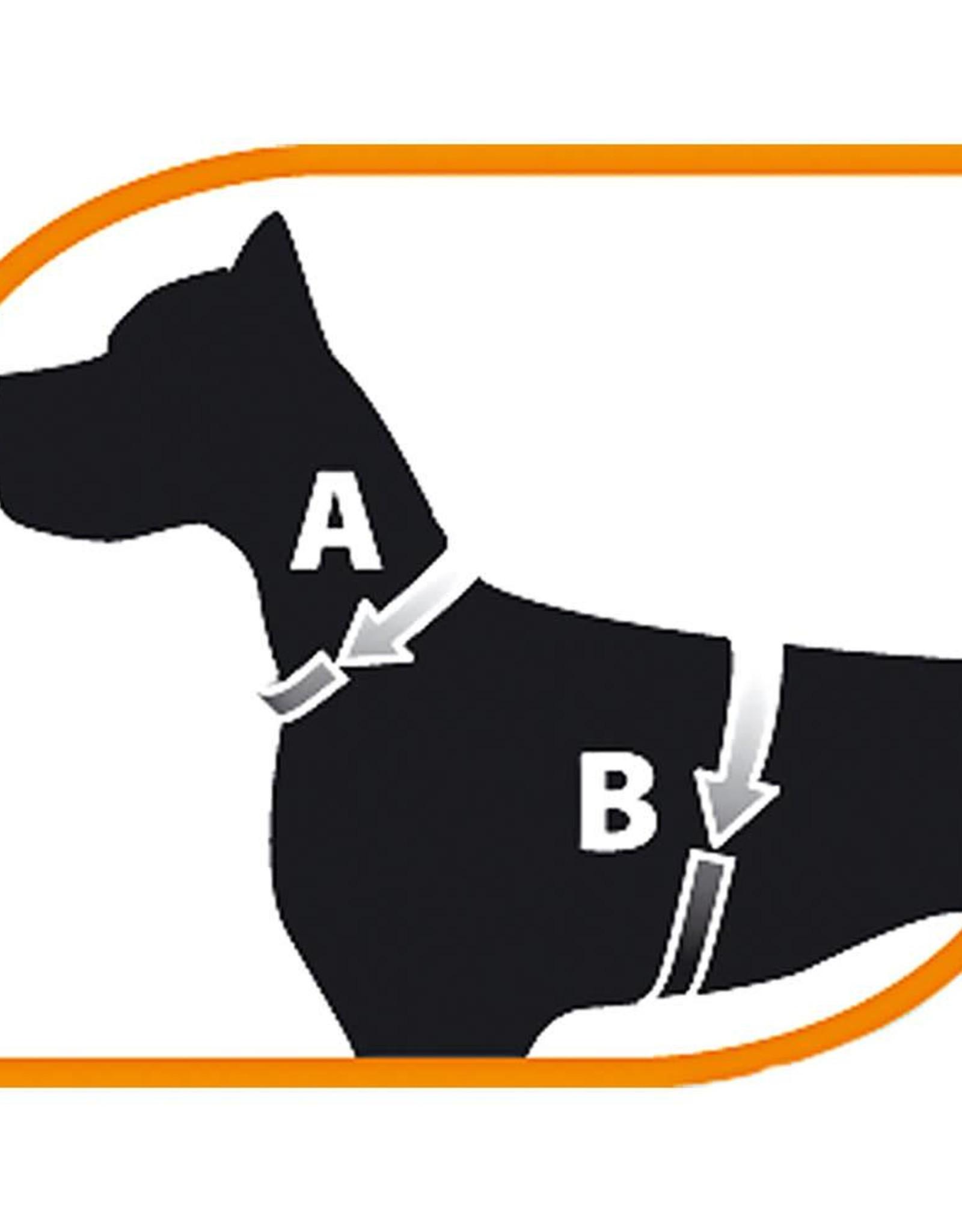 Ferplast Ergocomfort Dog Harness, Red