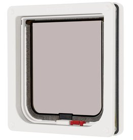 Pet Mate Cat Mate Lockable Cat Flap, White