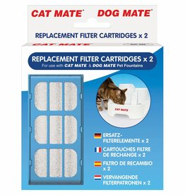 Pet Mate Replacement Filter for Cat Mate Water Fountain