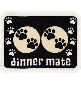 Pet Rebellion Mini Mate Small Absorbent Food Mat, Black 30x40cm
