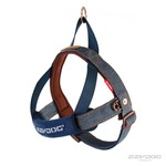 EzyDog Quick Fit Dog Harness, Denim