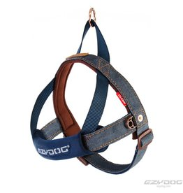 EzyDog Quick Fit Harness, Denim