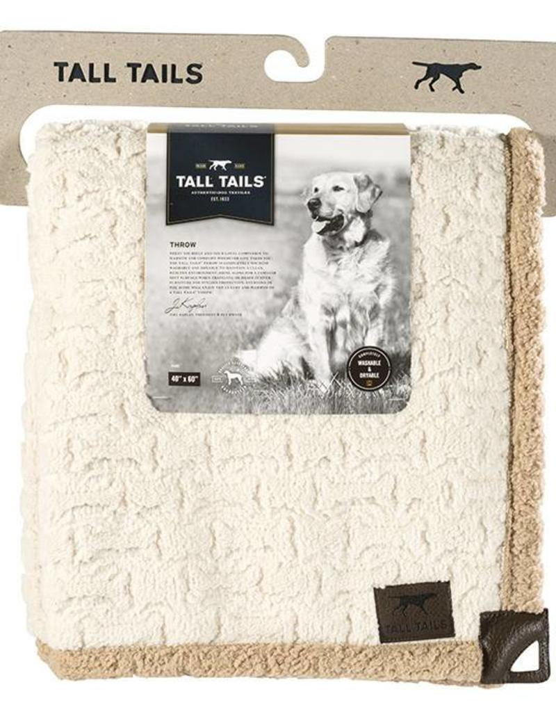 Rosewood Tall Tails Micro Sherpa Pet Throw Large