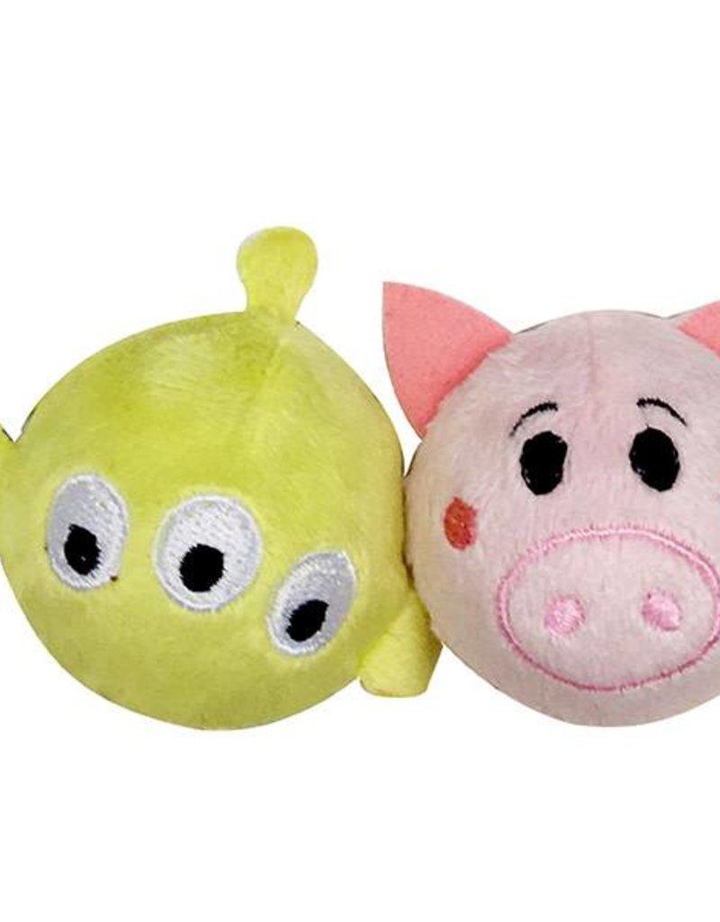 Disney Tsum Tsum Aliens & Hamm Ball 2 pack Cat Toy