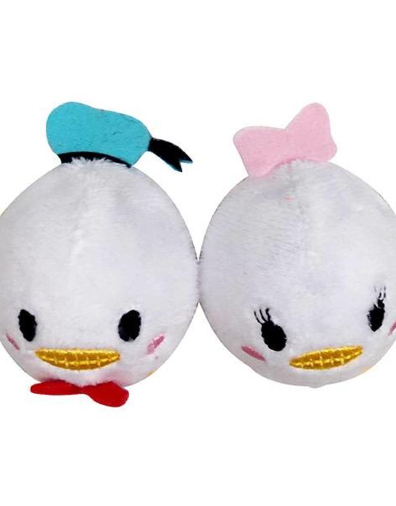 Disney Tsum Tsum Donald Duck & Daisy Duck Ball 2 pack Cat Toy