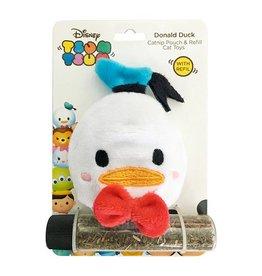Disney Tsum Tsum Donald Duck Catnip Pouch & Refill Cat Toy