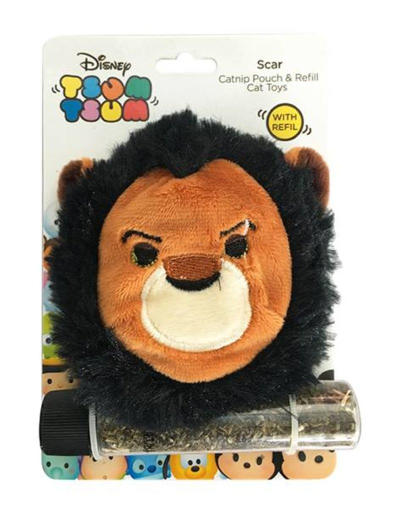 Disney Tsum Tsum Scar Catnip Pouch & Refill Cat Toy