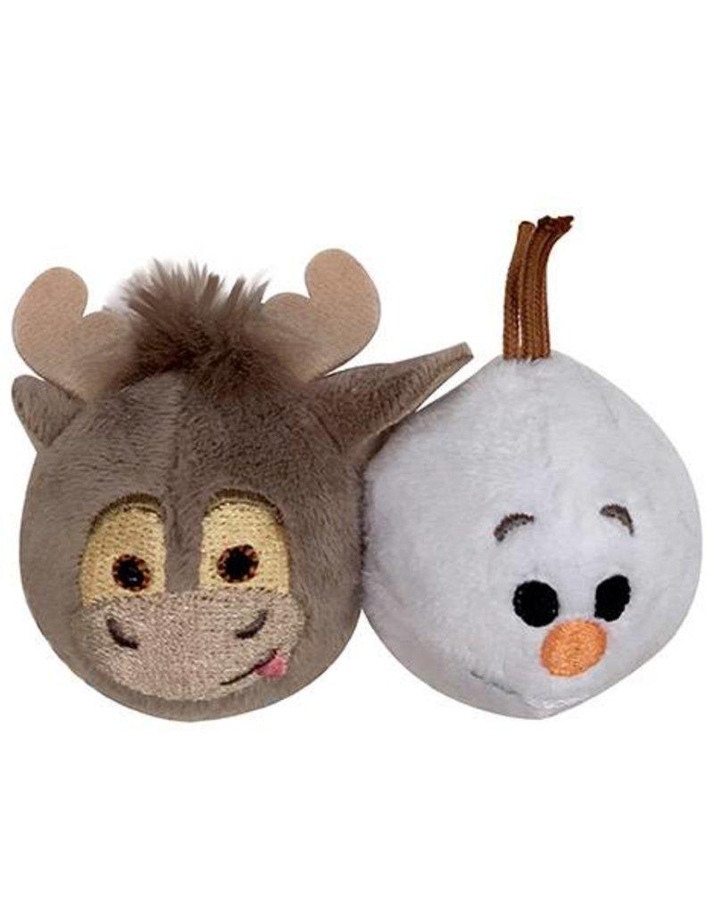 Disney Tsum Tsum Sven & Olaf Ball 2 pack Cat Toy