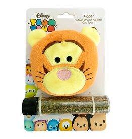 Disney Tsum Tsum Tigger Catnip Pouch & Refill Cat Toy