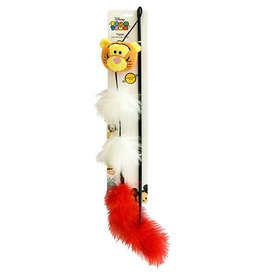 Disney Tsum Tsum Tigger Wand Cat Toy