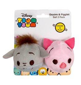 Disney Tsum Tsum Eeyore & Piglet Ball Cat Toy, 2 pack