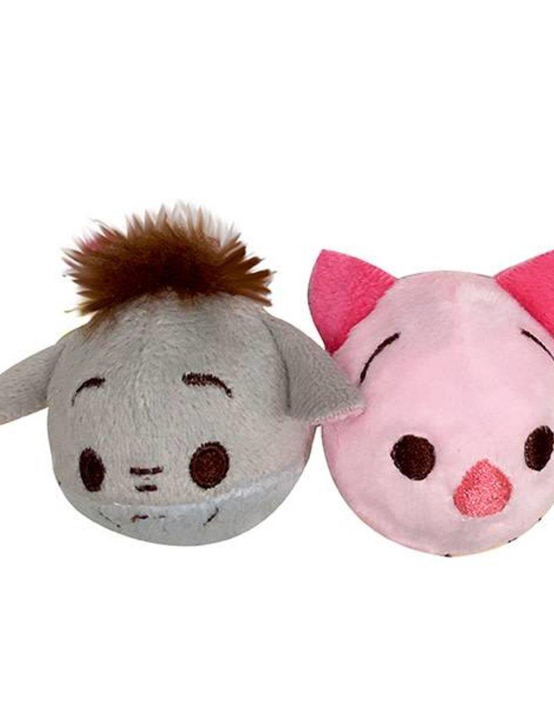 Disney Tsum Tsum Eeyore & Piglet Ball 2 pack Cat Toy