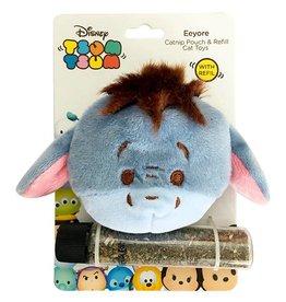 Disney Tsum Tsum Eeyore Catnip Pouch & Refill Cat Toy