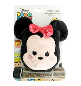 Disney Tsum Tsum Minnie Catnip Pouch & Refill Cat Toy