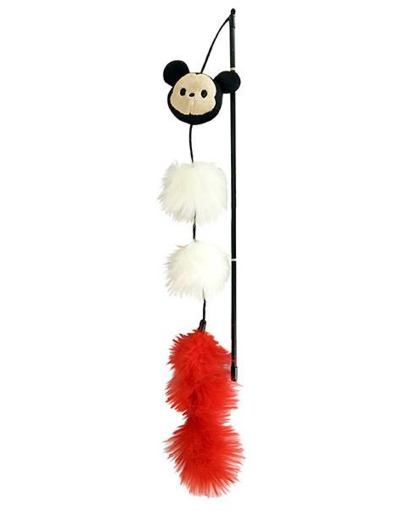 Disney Tsum Tsum Mickey Wand Cat Toy